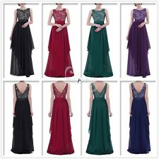 Sexy Women Formal Bridesmaid Evening Cocktail Wedding Gown Party Prom Long Dress