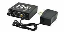 Buy it Now Digital Optical SPDIF Toslink Coaxial Audio to Digital Optical Coaxi