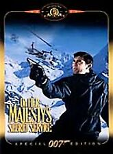 On Her Majestys Secret Service (DVD, 2000, DISCONTINUED) Free shipping in USA