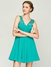 Lipsy Green Sequin Harness Prom Dress Size 8,10