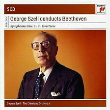 GEORGE SZELL CONDUCTS BEETHOVEN: SYMPHONIES NOS. 1-9; OVERTURES NEW CD