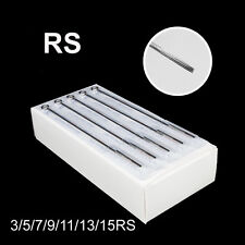 3/5/7/9/11/13/15RS Tattoo Supply Machine Sterile Disposable Needle U-Pick Size