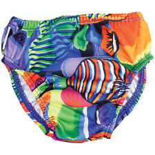 FINIS Baby and Toddler UPF 50 Elastic Reusable Swim Diaper - Tropical Fish