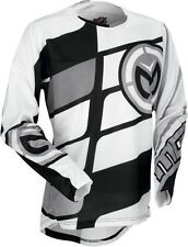 Moose Racing M1 2017 Mens MX/Offroad Jersey Stealth Black/Gray/White