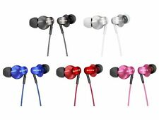 SONY MDR-EX220LP In-Ear Headphones Black White Blue Red Pink NEW from Japan
