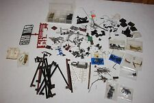 BIG lot of misc. detail parts for ho scale train cars engines Athearn