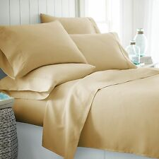 Home Collection Ultra Soft 4 Piece Sheet Set with 2 BONUS PILLOW CASES!