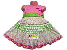My Little Pony Pink Tiered Party Summer Girls Dress