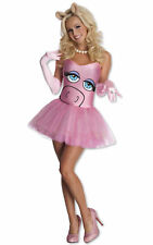 Miss Piggy The Muppets Pink Disney Sexy Licensed Women Costume