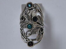 Sterling Silver 925 Ring Nature Ring Turquoise Turquoise Women's Ring
