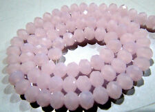 5/10 STRINGS- Hydro Rose Quartz Beads , Size 6mm , 100 approx Beads per Strand