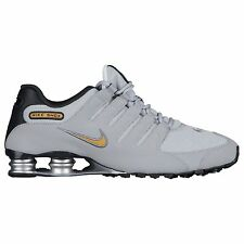 NIKE SHOX NZ 2017 GOLD METALLIC GREY MENS RUNNING SHOES ** BEST SELLER