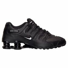 NIKE SHOX NZ EU BLACK WHITE MENS ATHLETIC  RUNNING SHOES ** BEST SELLER