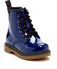 Coco Jumbo Royal Blue Patent Jane Boots Little Girls Size 11-4