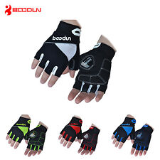 BOODUN Half Finger Bike Bicycle Gloves Gel Padded Sport Cycling Gloves M-XXL
