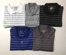 Men's Golf IZOD Performance Striped Long Sleeves Polo Collar shirt NWT.
