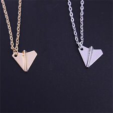 Paper Airplane Men Pendant Necklace One Direction Band Harry Styles Fashion