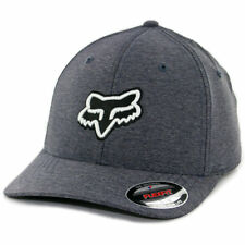 "Fox Head ""Transfer"" FlexFit Hat (Navy) Men's Precurved Stretch Cap"