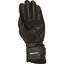 Weise Romulus Black Moto Motorcycle Armoured Touring Leather Gloves All Sizes