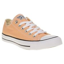 New Girls Converse Pink All Star Ox Canvas Trainers Lace Up