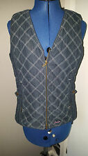 JOULES Jelick navy blue quilted padded gilet bodywarmer  SIZE 10
