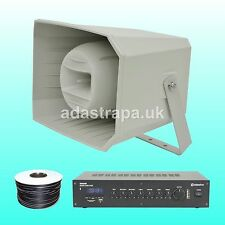 Adastra 60W Outdoor Event Full Range Horn Music PA Public Address System