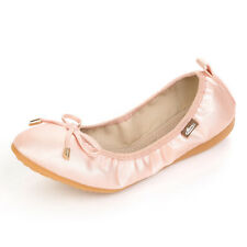 Women Bow tie Flats Shoe Casual/Office Soft Boat Ballet Shoes Big Size US 4-13