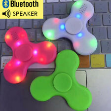 Hand Spinner Toy EDC LED Fidget Spinner with Bluetooth Speaker for Kids Adults