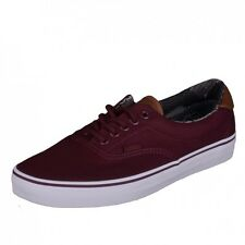 Vans Era 59 Shoes Trainers Skater shoes wine red port royale materia VN0A38FSMMO