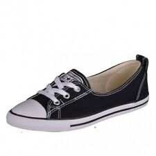 Converse Ct Ballet Lace Black Sneakers Shoes Chuck Taylor Black white 547162C