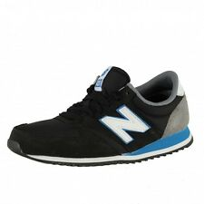 New Balance 420 Runner Trainers Shoes Running Shoes Black Blue grey U420NKB