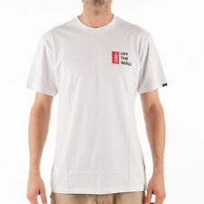 Vans M Vans Off the Wall II T-Shirt Backprint White classic V2O1WHT