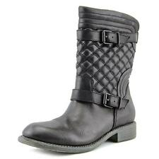 Aldo Graeclya Women  Round Toe Leather Black Mid Calf Boot