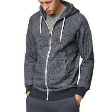 Bench Constitute navy Knitted Hooded Hoody Jacket Zip Hoody BMEA2747 NY031