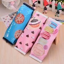 Fashion Cute Pencil Pen Case Novelty Makeup Cosmetic Pouch Bag Zipper Stationery