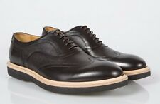 $625 Paul Smith Truman Leather Brown Black Shoes