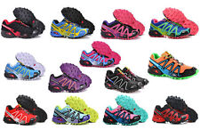 New Women's Salomon Speedcross 3 Athletic Running Sports Outdoor Hiking Shoes