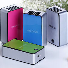 Free Standing Mini Air Conditioner Cooler Fan Hand Held Portable USB Summer New