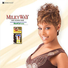 "Shake N Go ""Milky Way"" SG 27 PCS Short Cut 100% Human Hair Weave (Lowest Price)"