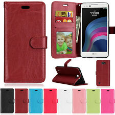 Three Photo Slot Wallet PU Leather Flip Skin Case Cover ID Card For LG G4 Stylus
