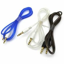 High Quality 1M 3Ft 3.5mm AUX AUXILIARY Male to M Stereo Car Audio Cable Cord