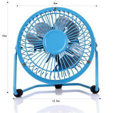 Mini USB Cooling Desk Fan Cooler PC Laptop Computer Metal Super Mute Portable