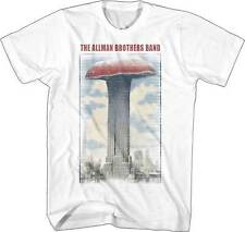The Allman Brothers Band Mushroom Building Adult Mens Music Rock T Tee Shirt