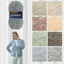 KING COLE AUTHENTIC DK DENIM LOOK COTTON MIX KNITTING YARN & PATTERN COLLECTION