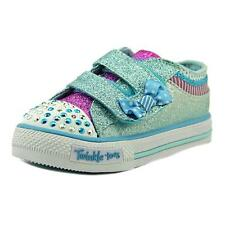 Twinkle Toes By Skechers S Lights-Shuffles-ow Buddies Toddler Blue Sneakers