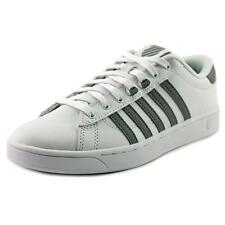 K-Swiss Hoke CMF Women  Round Toe Leather White Tennis Shoe NWOB