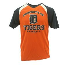 Detroit Tigers Youth Size Baseball Official MLB Athletic polyester T-Shirt New