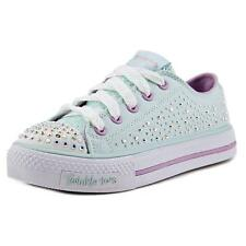 Twinkle Toes By Skechers S Lights-Shuffles-Sparkle Wishes Youth Blue