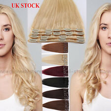 Clip in Remy Hair Extensions 100% Real Human Hair Extension Standard 70-80g C451