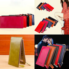 Long Ladies Purse Coins   Women Wallets  Clutch Money Bag Hasp Fashion Leather